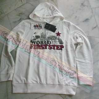 [LAST 1][CRAZY DEAL 90% OFF FROM ORIGINAL PRICE][READY STOCK]SHINee KOREA ENDORSE MAYPOLE OFFICIAL HOODIE WITH 5MEMBER PRINTED AUTOGRAHED  L SIZE! NEW! OFFICIAL ORIGINAL FROM KOREA (SELAED) (PRICE NOT INCLUDE POSTAGE)PLEASE READ DETAILS FOR MORE INFO