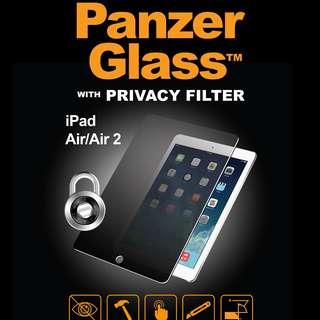 PanzerGlass iPad/Air/Pro 9.7/10.5/12.9 PRIVACY 防偷窺系列防爆玻璃貼