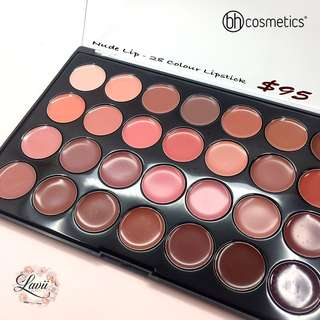 [全店現貨]💗高CP值.Bh Cosmetic Nude Lip - 28 Color lipstick Palette🇺🇸
