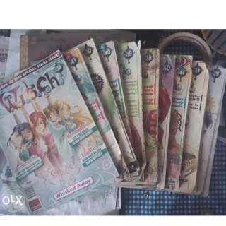 Take All W.I.T.C.H magazine issues 29, 30, 31, 38, 39, 40, 41, 44, 50, 74
