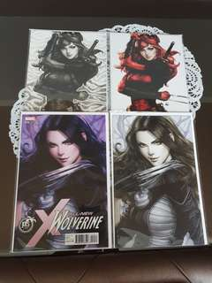 Artgerm Variant Cover Set