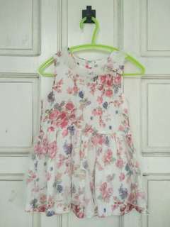 Floral baby dress