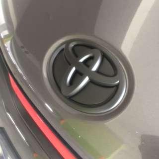 Toyota wish Plasti dip spraying services