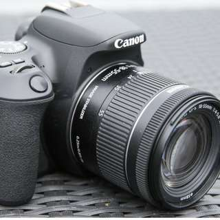 kredit tanpa DP Canon EOS 200D DSLR Camera with 18-55mm Lens