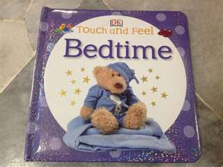 Touch and feel book