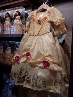 香港迪士尼 貝兒公主裙