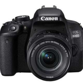 kredit tanpa dp  Canon EOS 800D WIFI EF-S 18-135 IS STM Kit