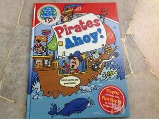 Pirates book (hardcover)