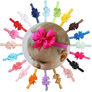 10pcs assorted headband