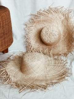 🚚 Women's Straw Visor Hats