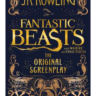 Fantastic Beasts and where to find them. The original screenplay - JK Rowling