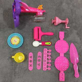 Mould utk playdoh