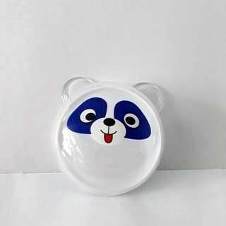 Cute panda slime container