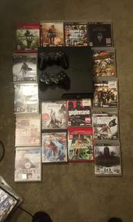Playstation 3  250 GB  35+ Games  AMAZING DEAL!