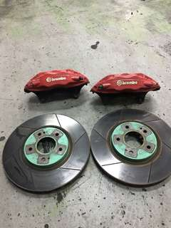 Evo 7 8 9 brembo brake. Good condition!