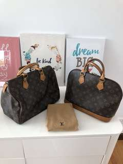 Bundle Sale!!! Authentic LV Alma PM and Speedy 30 get both + sf