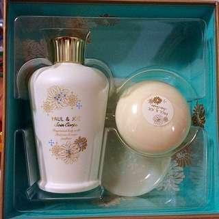 🚚 Paul&Joe 想樂時光 香氛身體乳+香氛身體皂