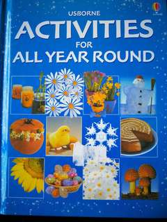 Usborne Activities for All Year Roynd