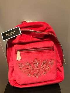 Juicy Couture 典型款背包(粉紅色)全新未用過