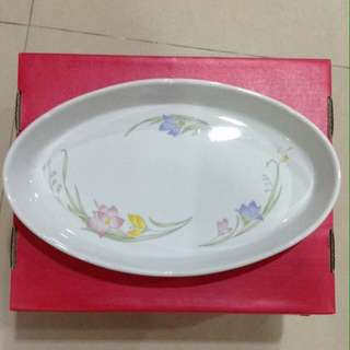 Oval serving dish(13 inches)