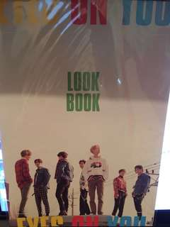 GOT7 Eyes On You (Look Book)  Lyrics Poster