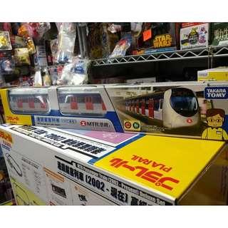 最新現貨TAKARA TOMY 2018 年限量版 PLARAIL 港東鐵mtr載客列車『2002-現在』單裝玩具火車mtr  rail line passenger train(不是Bandai ,disney,lego,SANRIO)