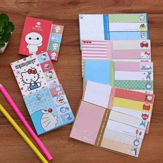 Cute Sticky Notes Memo Pad
