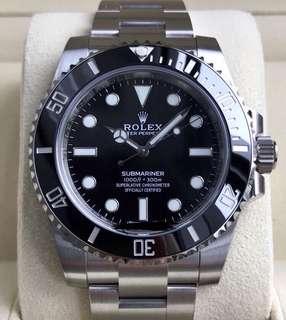 BNIB Rolex Submariner 114060