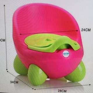 Pink potty trainer