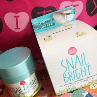 Cathy Doll Snail Whitening Cream