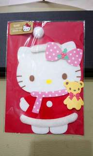 Hello Kitty pop up message card