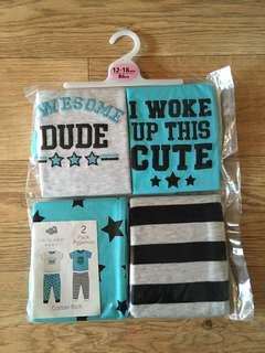 [preorder-april] Primark boys(0-36m) pyjamas