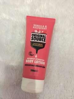 Original Source Body Lotion