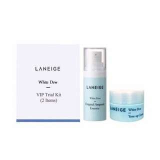 Laneige White Dew VIP Trial Kit (2 items)