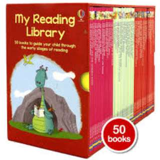 50 USBORNE Second My Reading Library Book