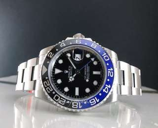 Brand new Rolex Gmt master ll aka Batman