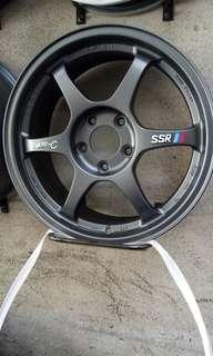 SSR type C original 17 inch rims