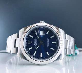 Brand new Rolex Datejust ll 126334 blue dial