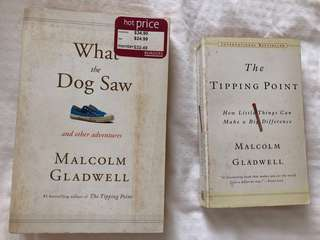 Malcolm Gladwell ( Whst the Dog Saw, The Tipping Point)