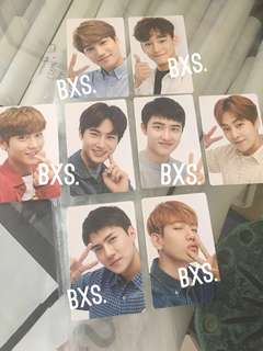 FREE NORMAL MAIL! 🎈 Instock Official Exo the elyxion limited photocard pc choose Kai / Chen / Chanyeol / Suho / do kyungsoo / Xiumin / baekhyun / sehun