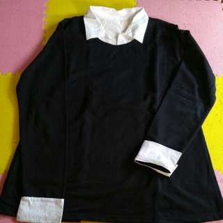Twotone shirt