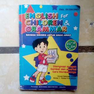 English children grammar