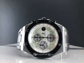 Pre owned Audemars Piguet Royal Oak Offshore white Rubberclab
