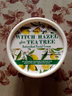 Witch Hazel + Tea Tree Antioxidant Facial Cream