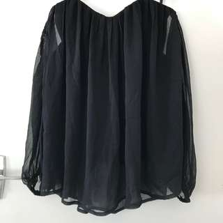 Seed BNWT off the shoulder top