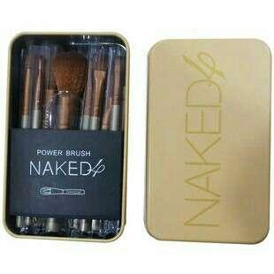 Naked 4 7pcs Make-up Brush Set