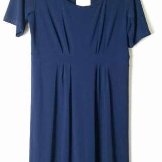 Navy Blue Dress Size 18