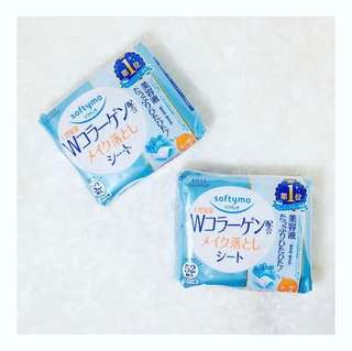 Softymo Makeup Remover Wipes with COLLAGEN