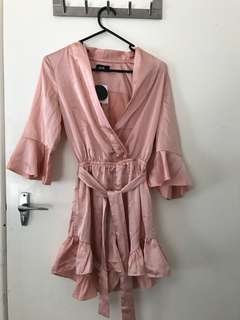 Dust pink playsuit BNWT