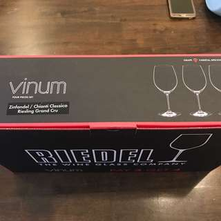 Crystal glasses wine glass lead crystal Germany Riedel